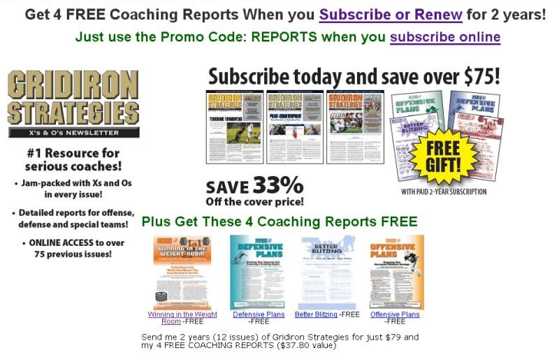 Get 4 FREE coaching Reports